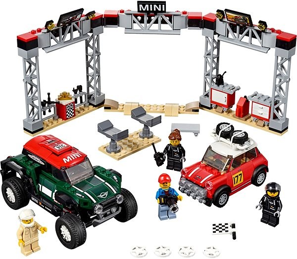 LEGO Speed Champions 75894 1967 Mini Cooper S Rally a 2018 MINI John Cooper Works Buggy - Stavebnica