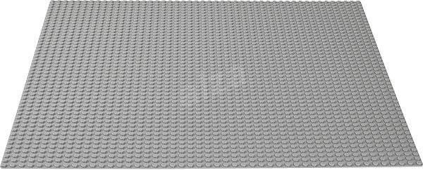LEGO Classic 10701 Sivá podložka na stavanie - Stavebnica