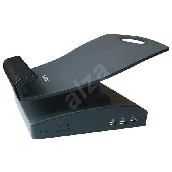 Sweex DS023 Notebook Station černý - Stojan pro notebook