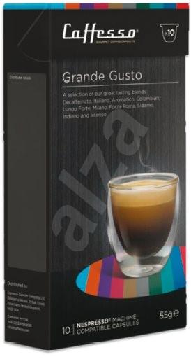 Caffesso Grande Gusto Selection box CA10-GRA - Kávové kapsuly