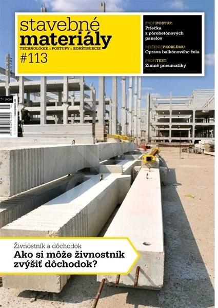 Stavebné materiály - 6/2019 - Elektronický časopis