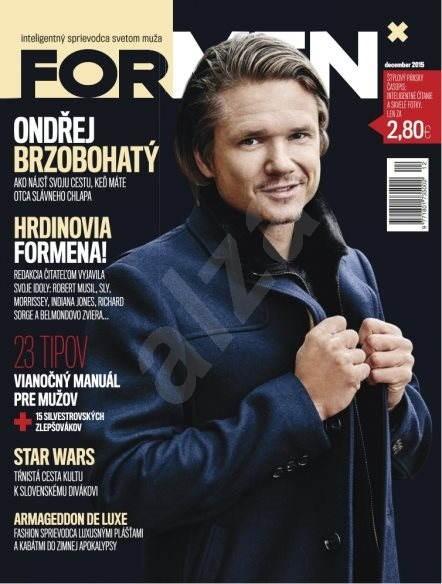 ForMen SK - 12/2015 - Elektronický časopis
