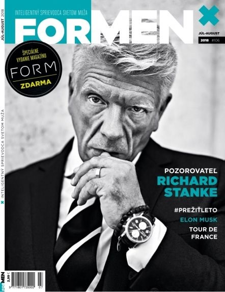 ForMen SK - 7-8/2018 - Elektronický časopis