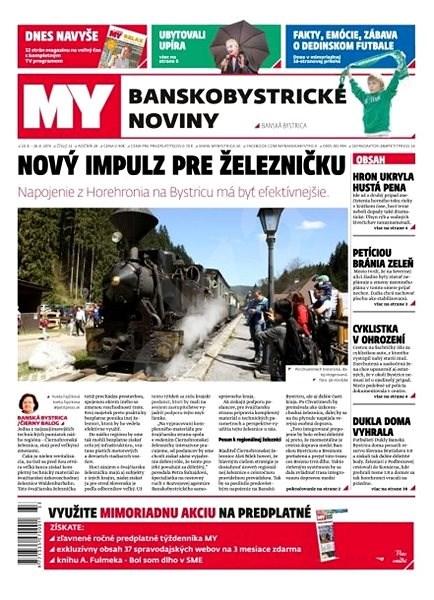 MY Banskobystrické noviny - 33/2019 - Elektronický časopis