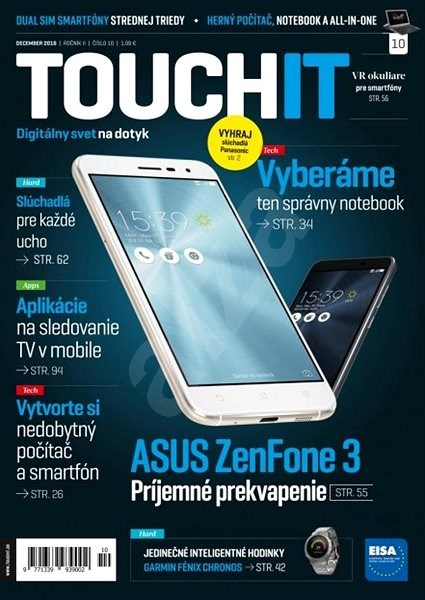 TOUCHIT - 10/2016 - Elektronický časopis