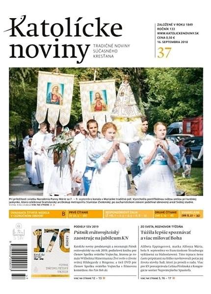 Katolícke noviny - 37/2018 - Elektronické noviny