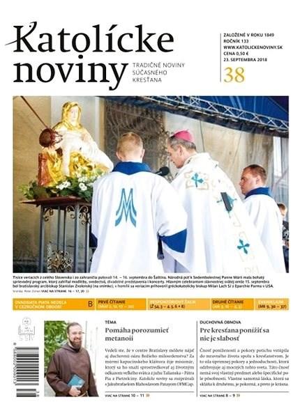 Katolícke noviny - 38/2018 - Elektronické noviny