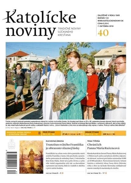 Katolícke noviny - 40/2018 - Elektronické noviny