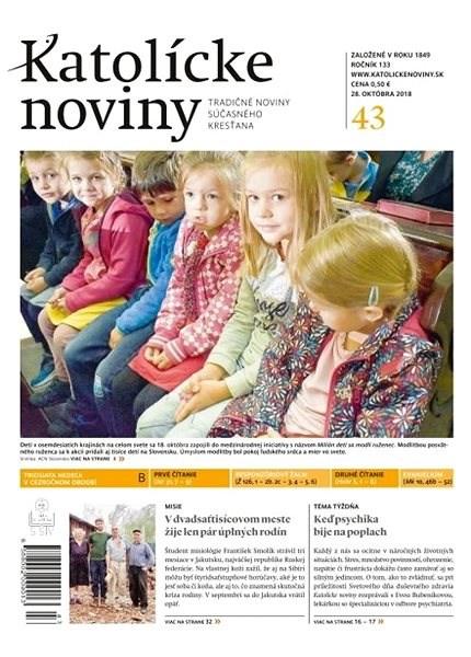 Katolícke noviny - 43/2018 - Elektronické noviny