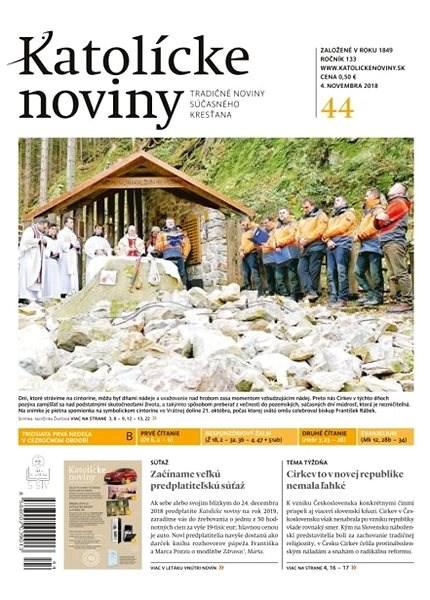 Katolícke noviny - 44/2018 - Elektronické noviny