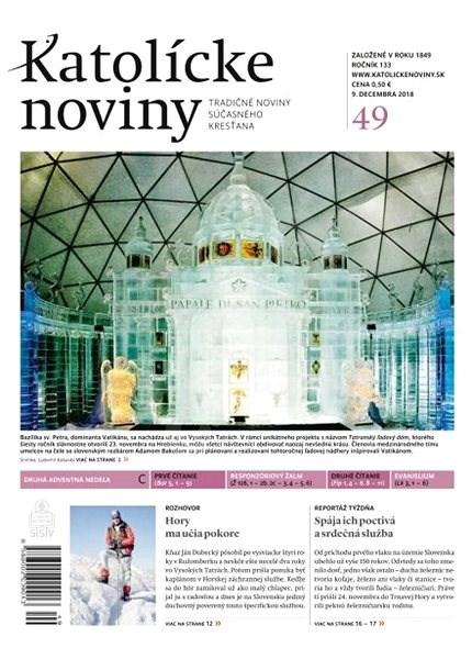 Katolícke noviny - 49/2018 - Elektronické noviny