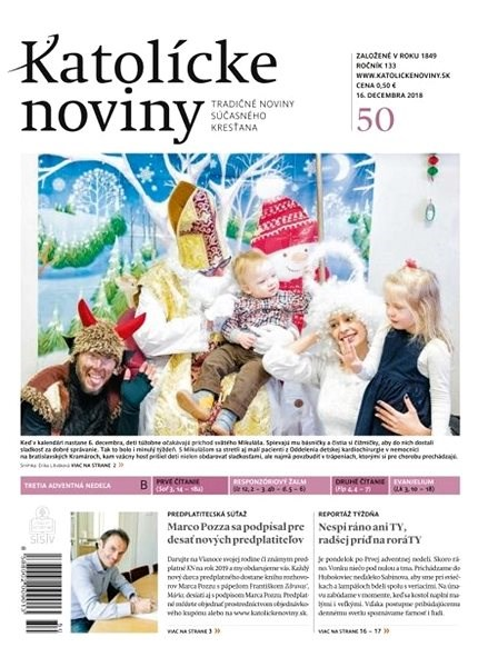 Katolícke noviny - 50/2018 - Elektronické noviny