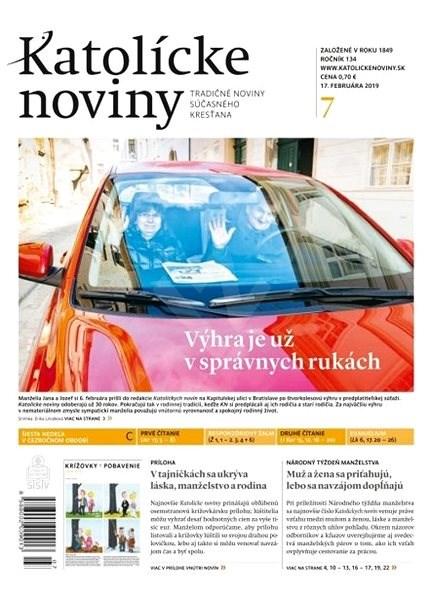 Katolícke noviny - 07/2019 - Elektronické noviny