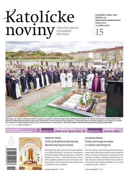 Katolícke noviny - 15/2019 - Elektronický časopis