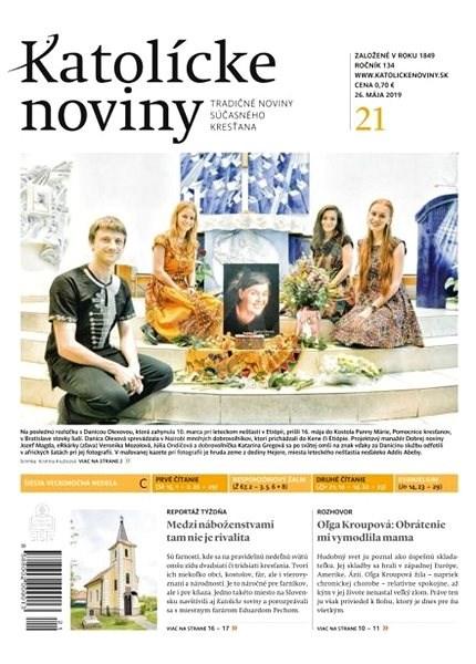 Katolícke noviny - 21/2019 - Elektronický časopis