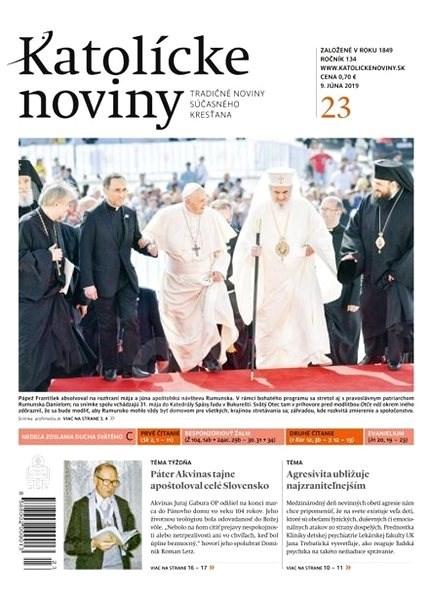 Katolícke noviny - 23/2019 - Elektronický časopis