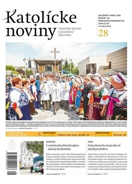 Katolícke noviny - 28/2019 - Elektronický časopis