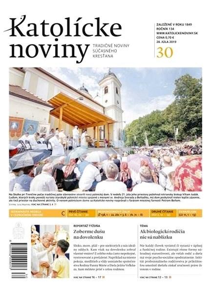 Katolícke noviny - 30/2019 - Elektronický časopis