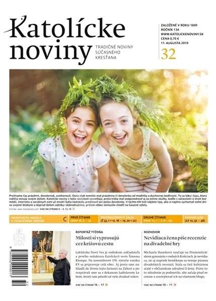 Katolícke noviny - 32/2019 - Elektronický časopis