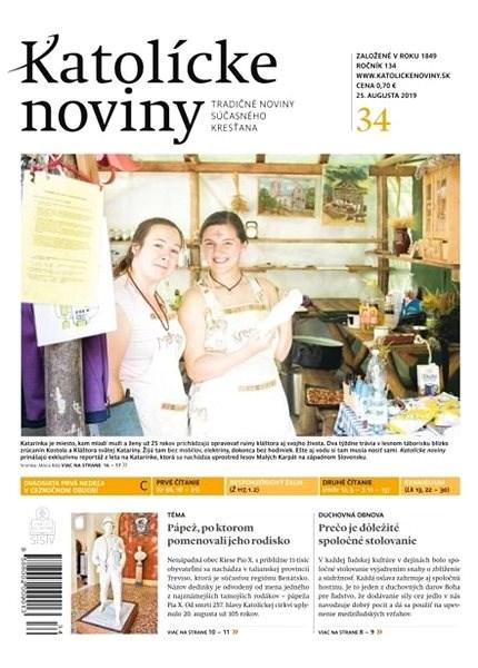 Katolícke noviny - 34/2019 - Elektronický časopis