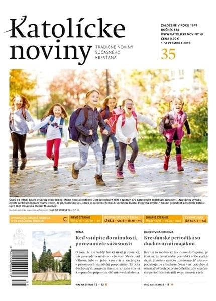 Katolícke noviny - 35/2019 - Elektronický časopis