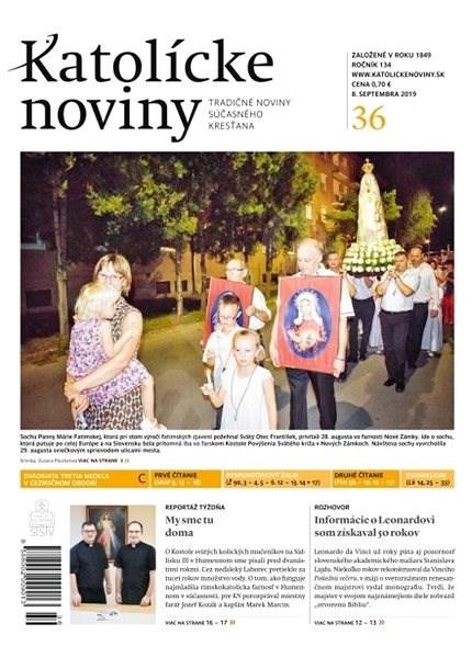 Katolícke noviny - 36/2019 - Elektronický časopis