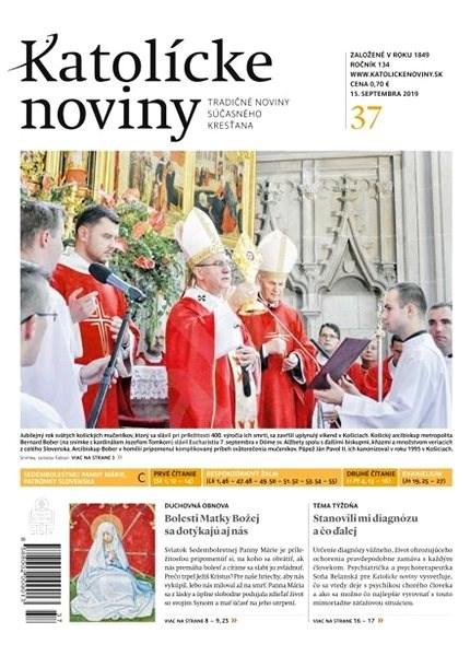 Katolícke noviny - 37/2019 - Elektronický časopis