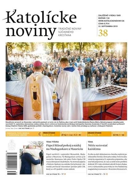 Katolícke noviny - 38/2019 - Elektronický časopis