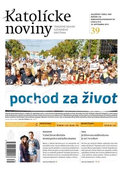 Katolícke noviny - 39/2019 - Elektronický časopis