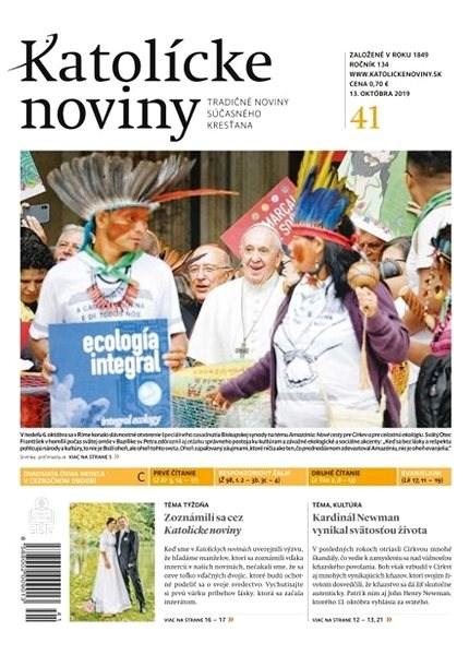 Katolícke noviny - 41/2019 - Elektronický časopis