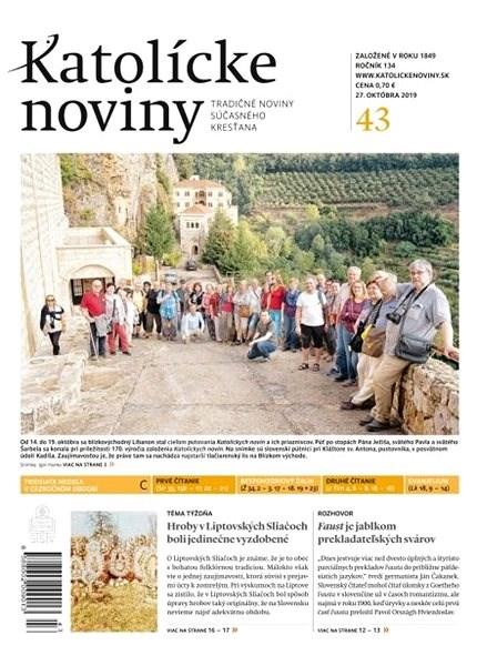 Katolícke noviny - 43/2019 - Elektronický časopis