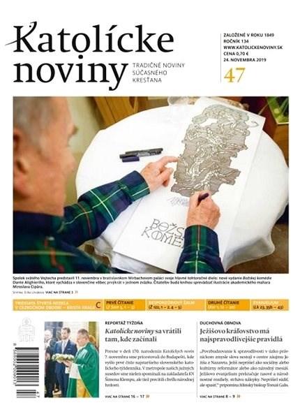 Katolícke noviny - 47/2019 - Elektronický časopis