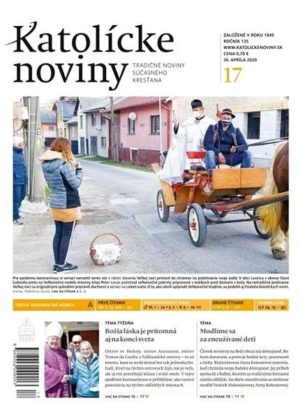 Katolícke noviny - 17/2020 - Elektronický časopis