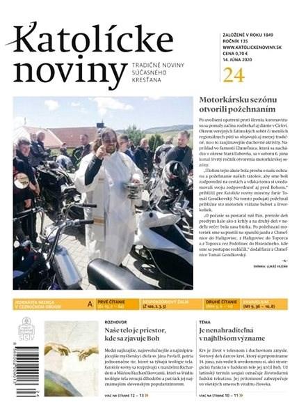 Katolícke noviny - 24/2020 - Elektronický časopis