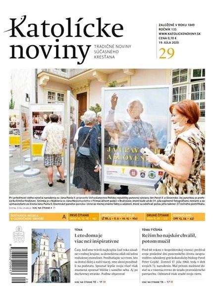 Katolícke noviny - 29/2020 - Elektronické noviny