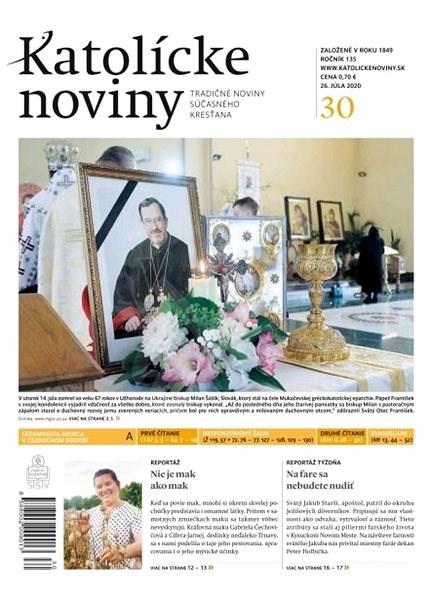 Katolícke noviny - 30/2020 - Elektronické noviny