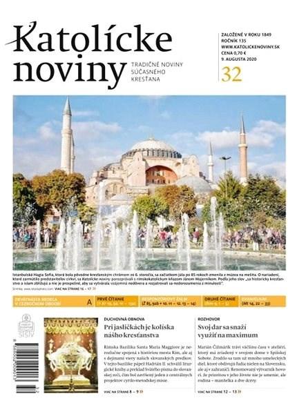 Katolícke noviny - 32/2020 - Elektronické noviny