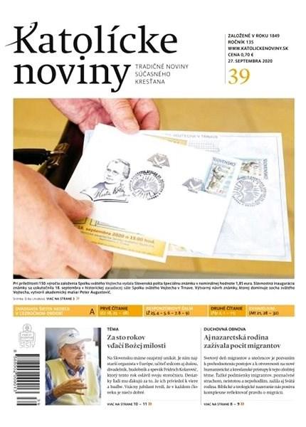Katolícke noviny - 39/2020 - Elektronické noviny