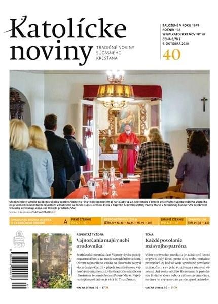 Katolícke noviny - 40/2020 - Elektronické noviny