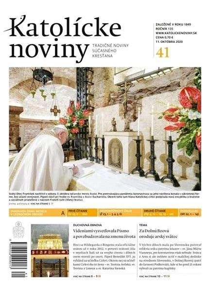 Katolícke noviny - 41/2020 - Elektronické noviny