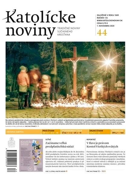 Katolícke noviny - 44/2020 - Elektronické noviny
