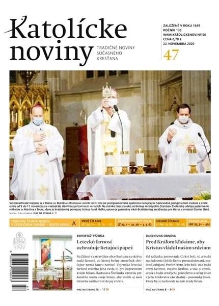 Katolícke noviny - 47/2020 - Elektronické noviny