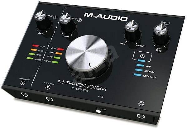2d041d493 M-Audio M-Track 2x2M - Zvuková karta | Alza.sk