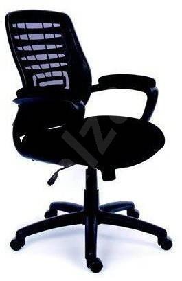 48bbfc0fefde4 MAYAH Executive Smart čierna - Kancelárska stolička | Alza.sk