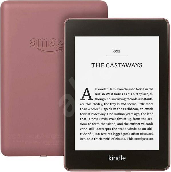 Amazon Kindle Paperwhite 4 2018 (8 GB) Plum (pink) - Elektronická čítačka kníh