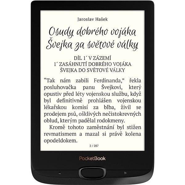 PocketBook 616 Basic Lux 2 Obsidian black - Elektronická čítačka kníh
