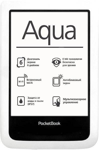 PocketBook 640 Aqua biela - Elektronická čítačka kníh