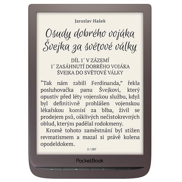 PocketBook 740 InkPad 3 tmavo hnedý - Elektronická čítačka kníh