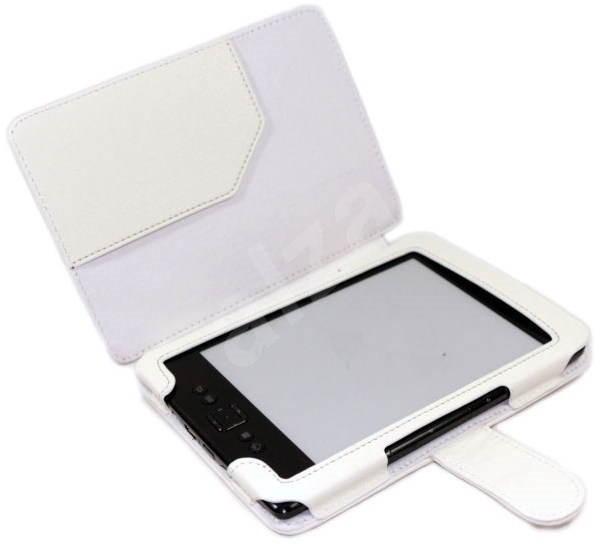 C-TECH PROTECT AKC-01 biele - Puzdro na čítačku kníh