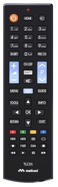 Meliconi TLC01 - Diaľkový ovládač